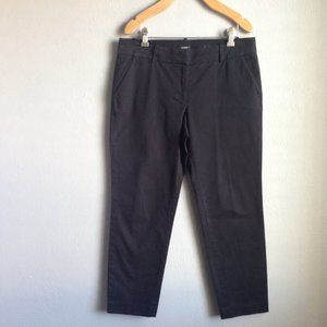 J CREW Crop Pants Sz 6 EUC